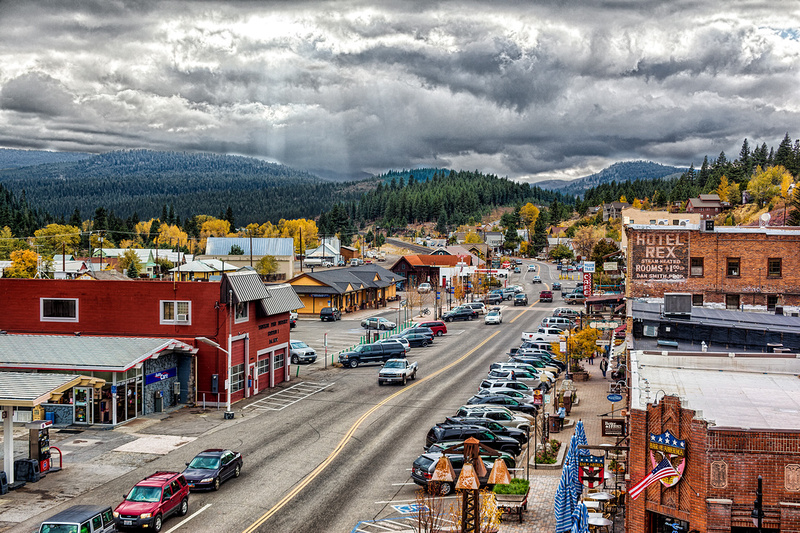 """""""Truckee Downtown"""""""